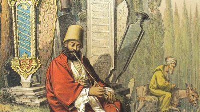 OttomanCemetryandMevlevİDervish1860JeanBrindesi