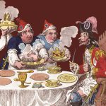 Dumourier, dining in State at S.t James on the 15 May 1793 : vid